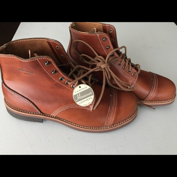 e0f2b0f22fe New Horween leather 1892 Dodgeville Thorogood boot